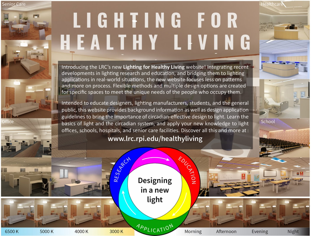 LRC - Lighting for Healthy Living Website Launched - May 26, 2020